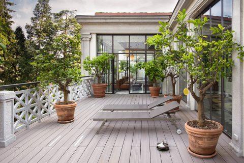 Les différents types de terrasse
