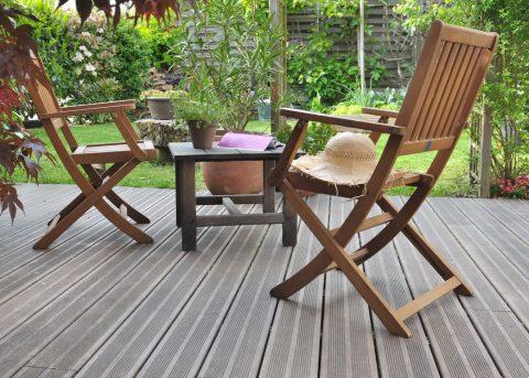 mobilier terrasse en bois