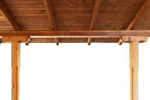 Toit en bois pour sa terrasse